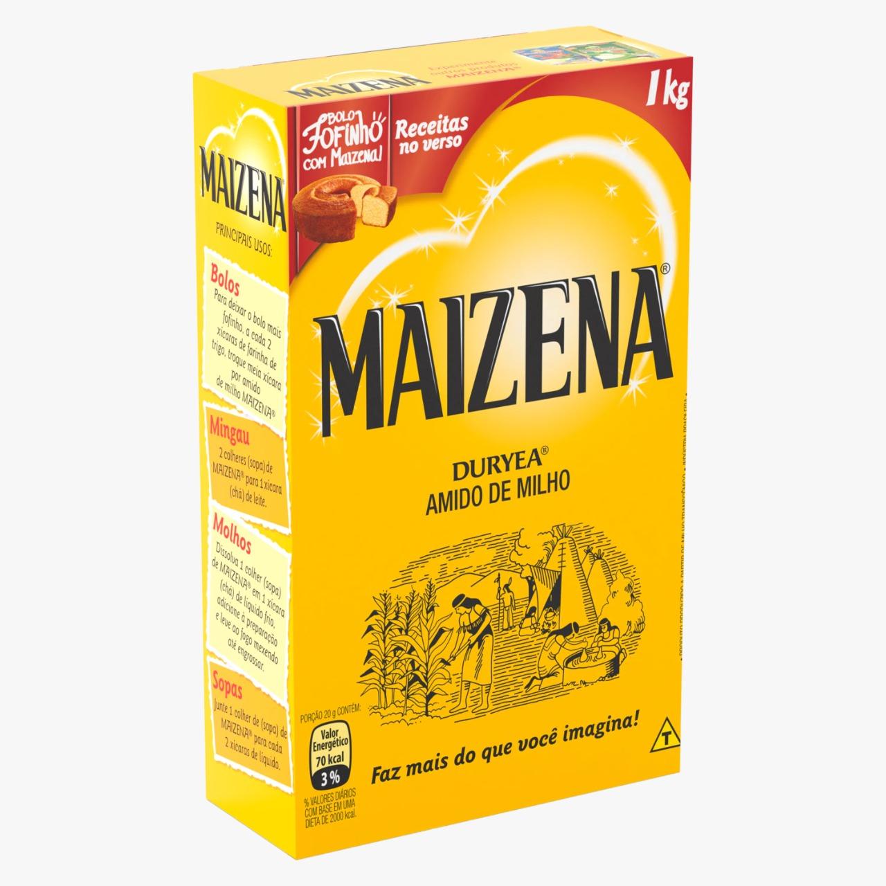 AMIDO DE MILHO MAIZENA 1 kg