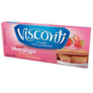 WAFER VISCONTI MORANGO 120 G