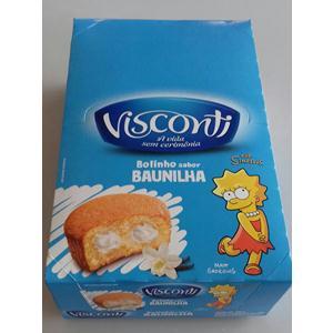 BOLINHO VISCONTI BAUNILHA 14X35 G