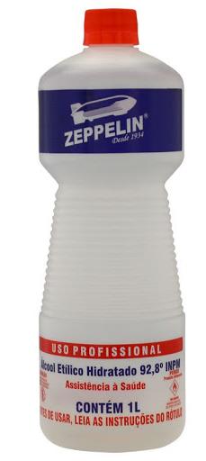 ALCOOL ZEPPELIN 92,8 gl 12x1 lt