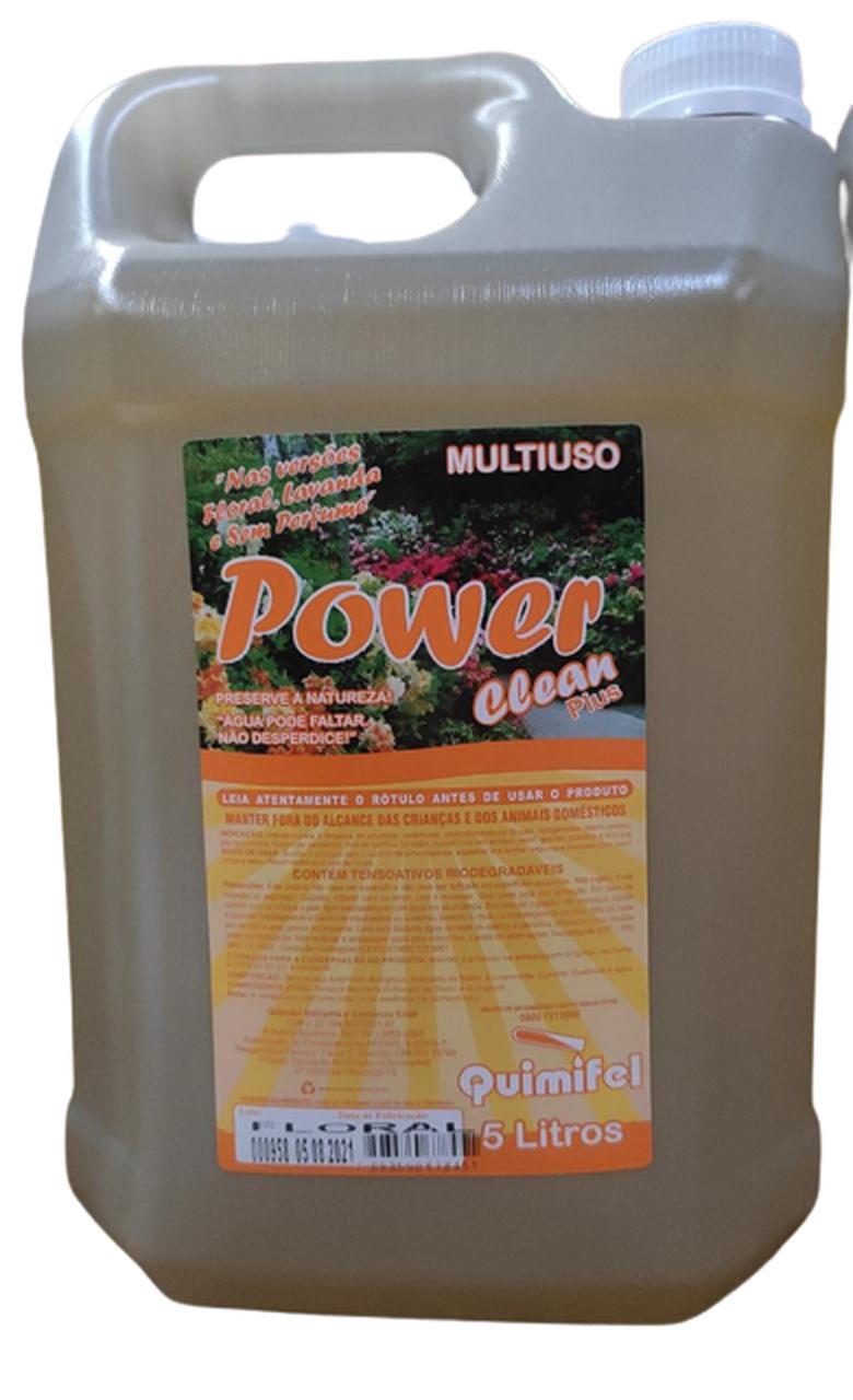 LIMPEZA MULTIUSO POWER CLEAN FLORAL 5 LT
