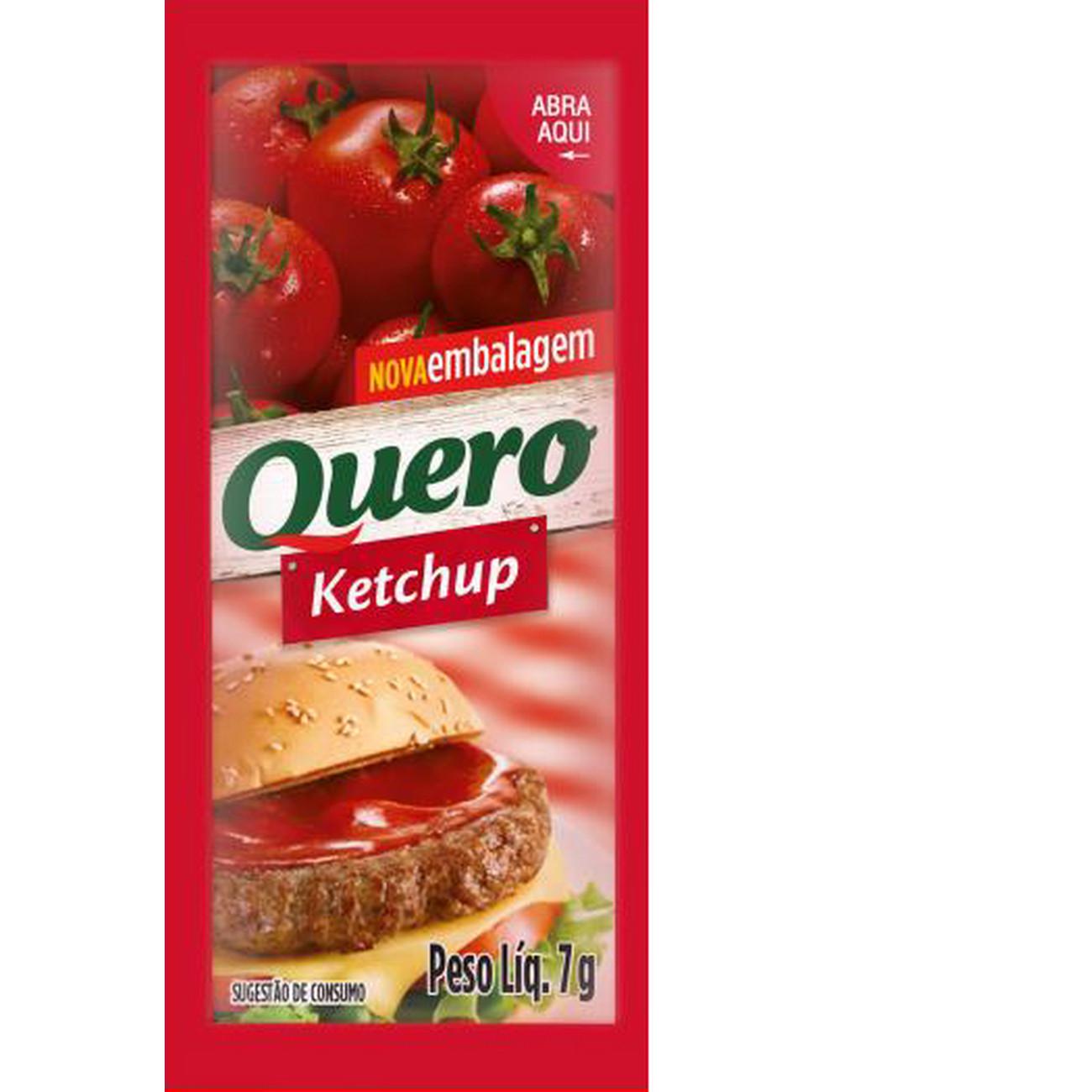 SACHÊ CATCHUP QUERO 176X7G