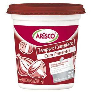 TEMPERO ARISCO COMPL.C/PIMENTA 1 KG