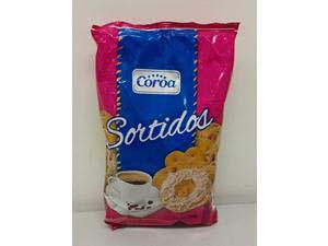 BISCOITO COROA SORTIDOS 400 G
