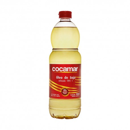 OLEO DE SOJA COCAMAR PET 20X900 ML
