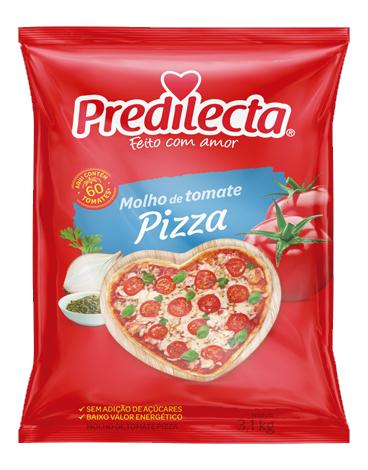 MOLHO TOM.PREDILECTA PIZZA 3,1 KG