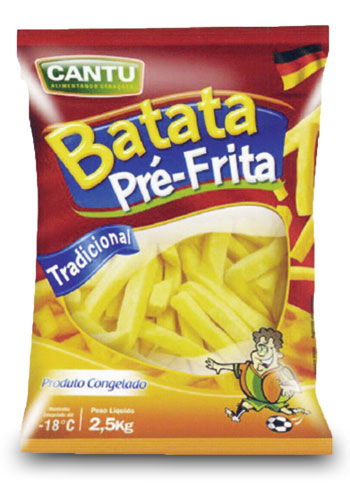 BATATA CONGELADA 9MM EASYCHEF 2,5 KG