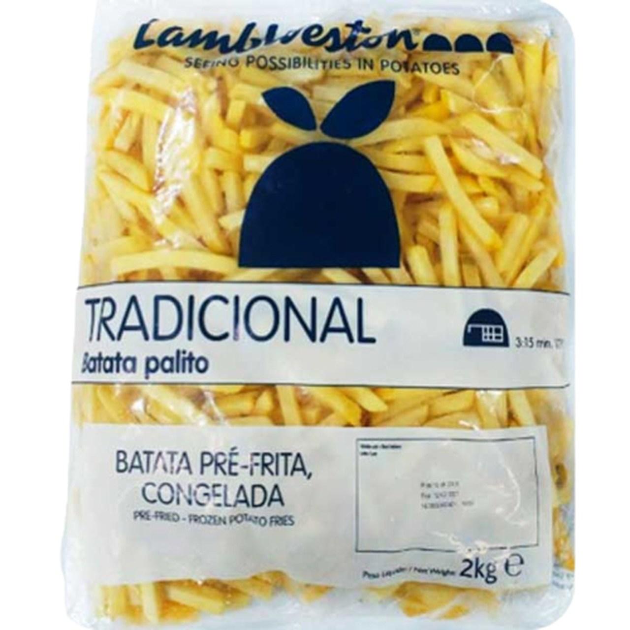 BATATA CONGELADA 9MM LAMB WESTON 2 KG