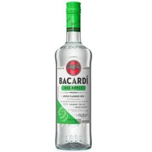 RUM BACARDI BIG APPLE MACA VERDE 980ML
