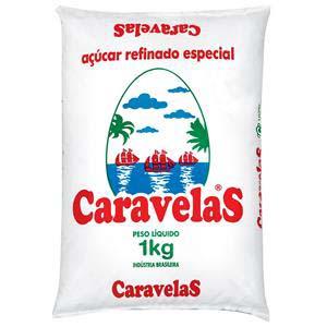 AÇÚCAR REFINADO CARAVELAS 10X1KG