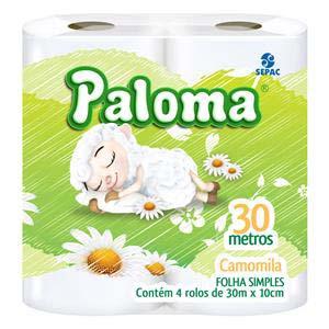 PAPEL H.PALOMA CAMOMILA.16X4UN 30M