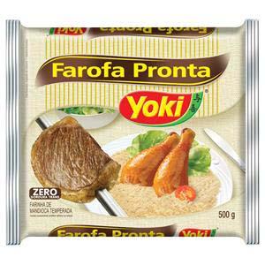FAROFA PRONTA YOKI 500 G