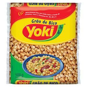 GRAO DE BICO YOKI 500 g
