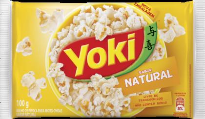 PIPOC.MICR.NATURAL YOKI 100 g