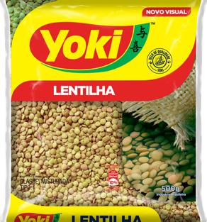 LENTILHA YOKI 500 G