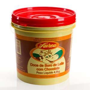 DOCE DE SORO LEITE C/CHOC. AUREA 4,8 KG