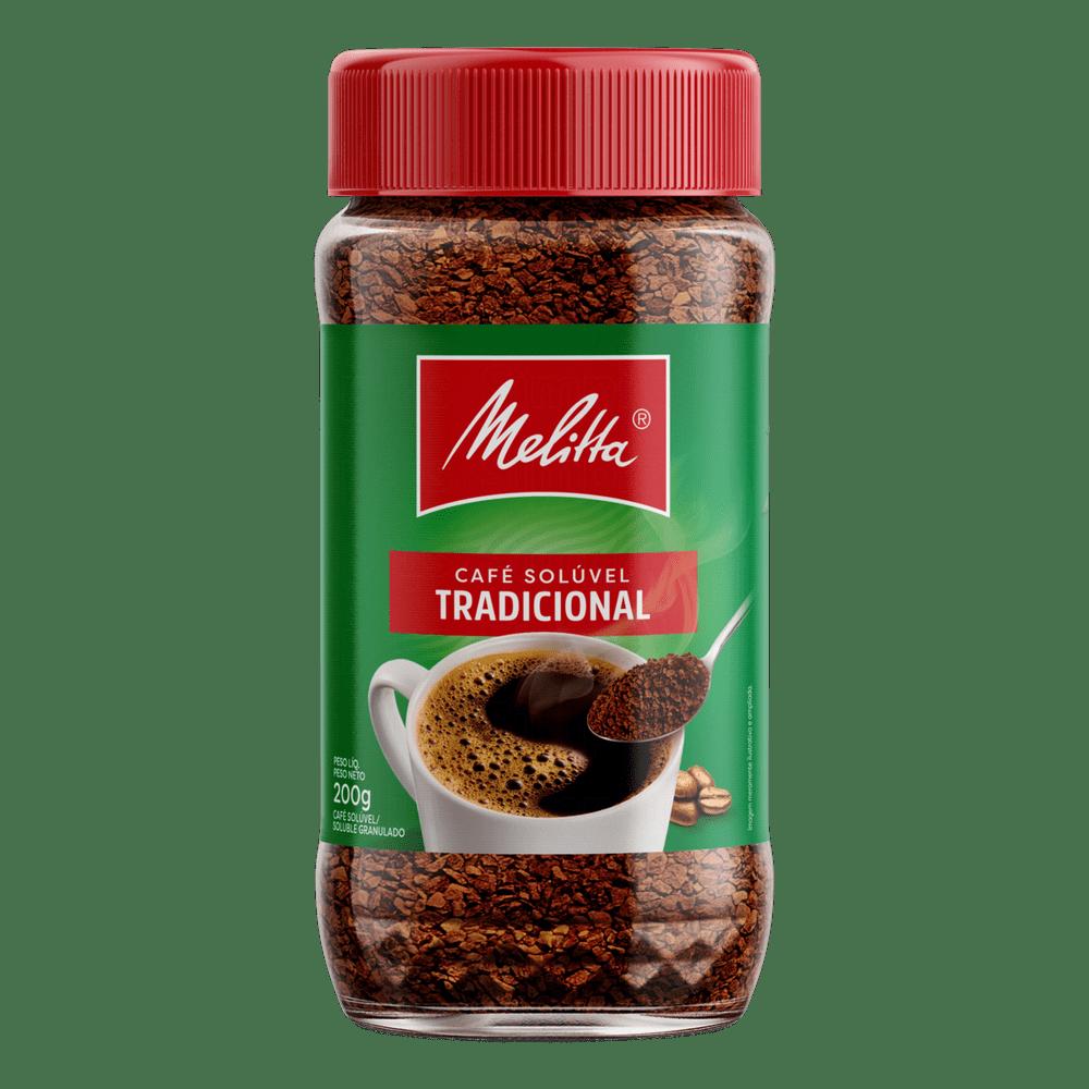 CAFÉ SOLÚVEL MELITTA SACHÊ 200 G