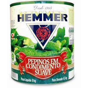 PEPINO EM CONS. HEMMER 4,5 kg