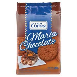 BISCOITO COROA MARIA CHOCOLATE 400 G