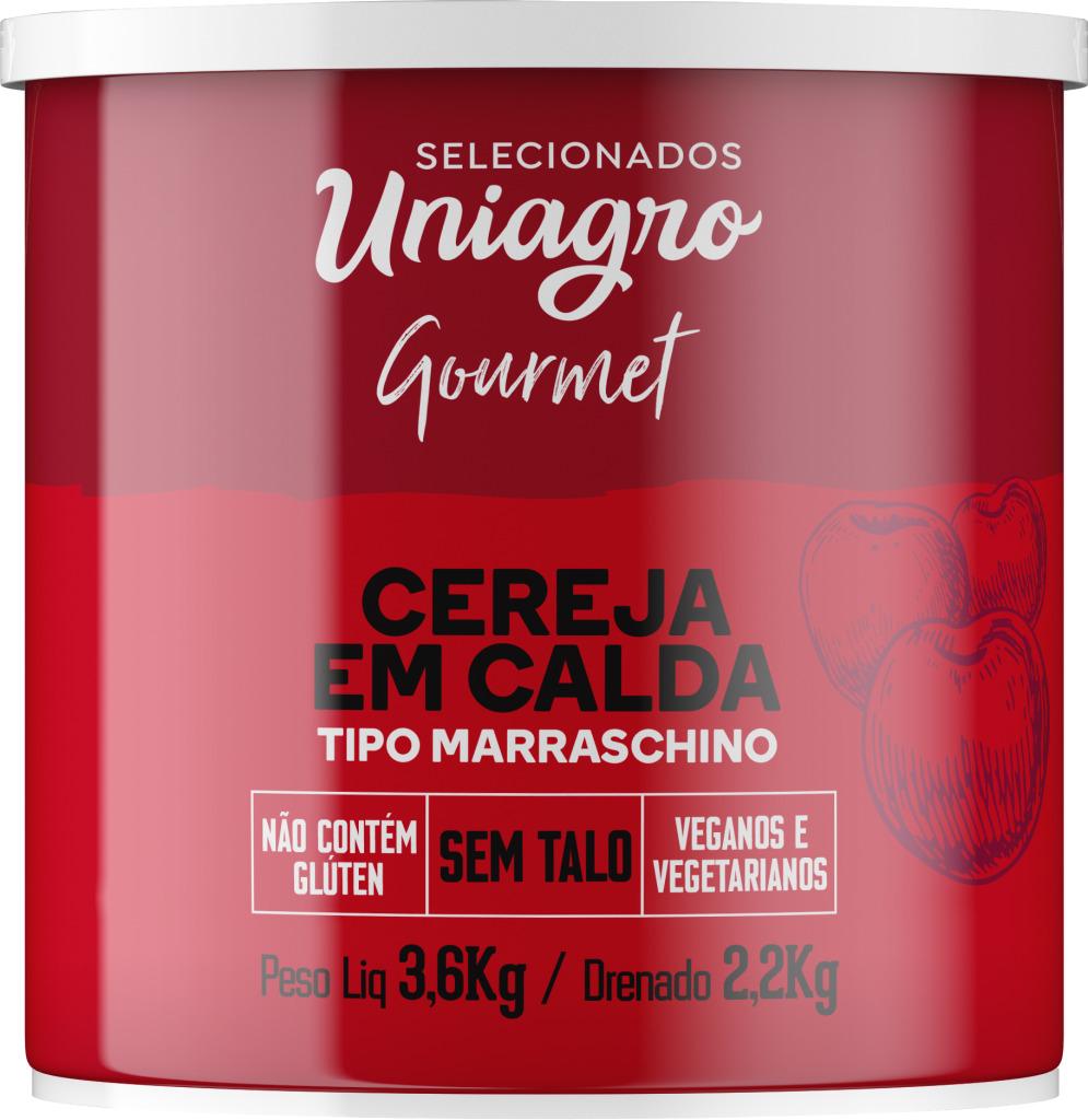 CEREJA MARASCHINO S/TALO UNIAGRO 2,2 KG