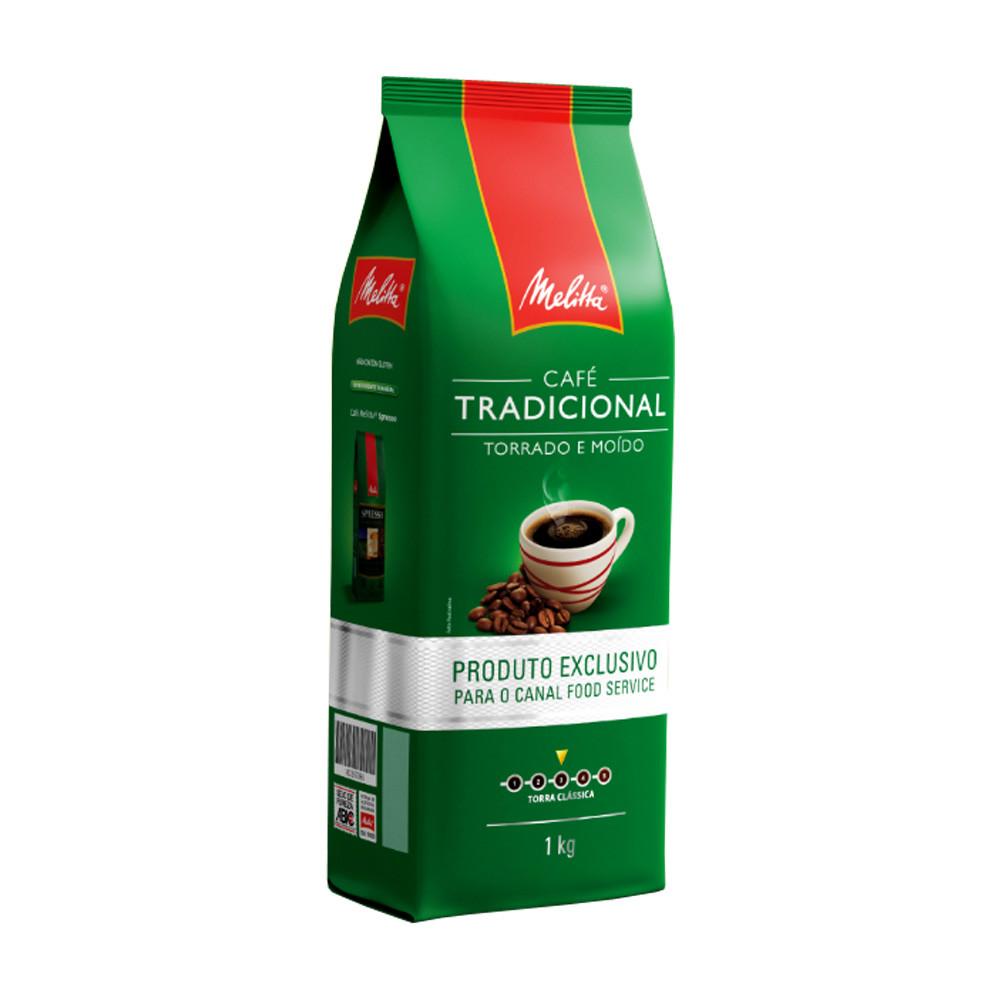 CAFÉ TORRADO MOÍDO MELITTA 1KG