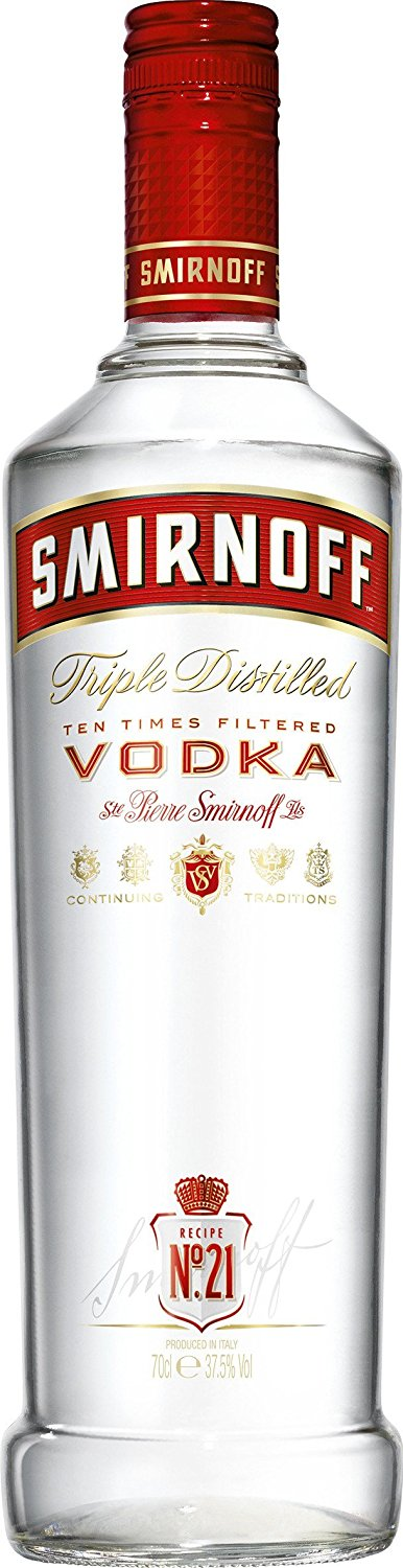 VODKA SMIRNOFF 998 ML