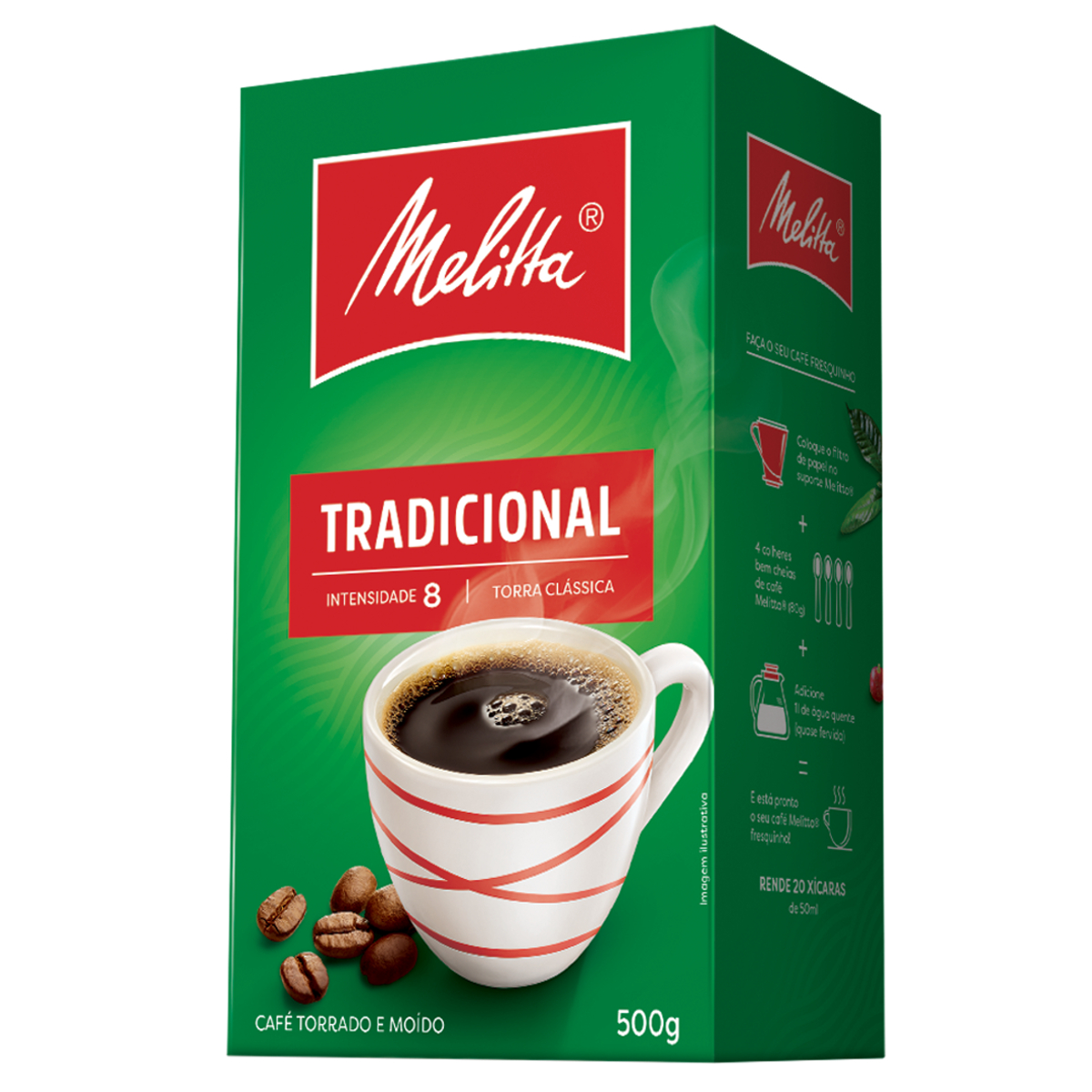 CAFE TORR.MOIDO TRAD.MELITTA 500 G