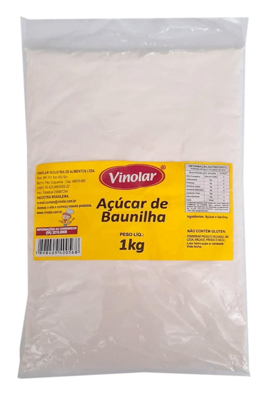 AÇÚCAR DE BAUNILHA VONOLAR 1KG