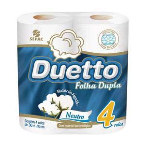 PAPEL H.DUETTO NEUT.FOL.DUP. 16X4UN30M