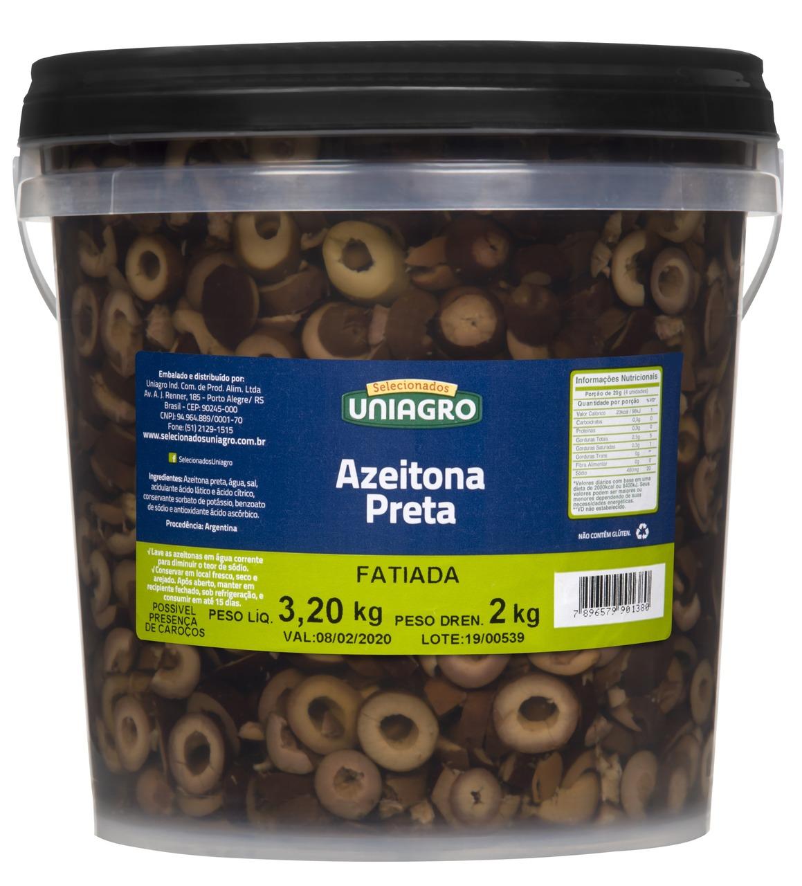 AZEITONA PR.FAT.UNIAGRO 2 KG
