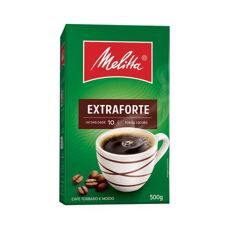 CAFÉ TORRADO MOÍDO EXTRAFORTE MELITTA 500G