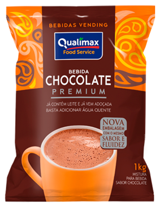 BEBIDA CHOCOLATE C/LEITE QUALIMAX 1 KG