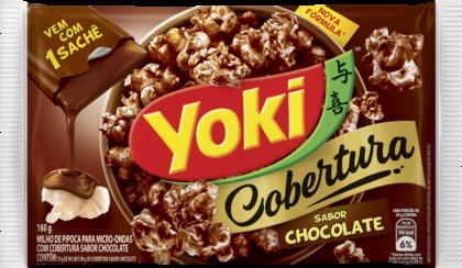 PIPOC.MICR.CHOCOLATE YOKI 160 G