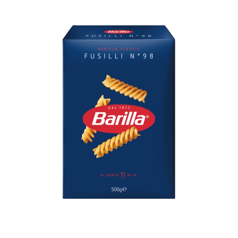 MASSA BARILLA FUSILLI 500 G