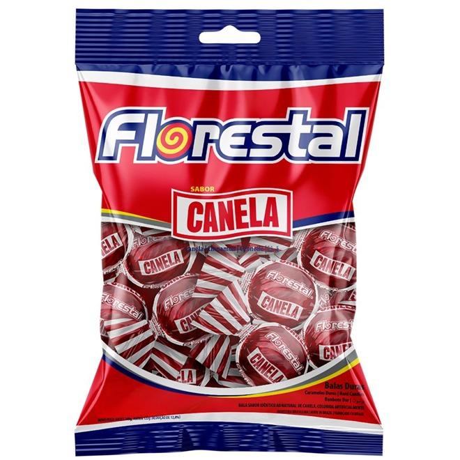 BALA FLORESTAL BOLINHA CANELA 700 G