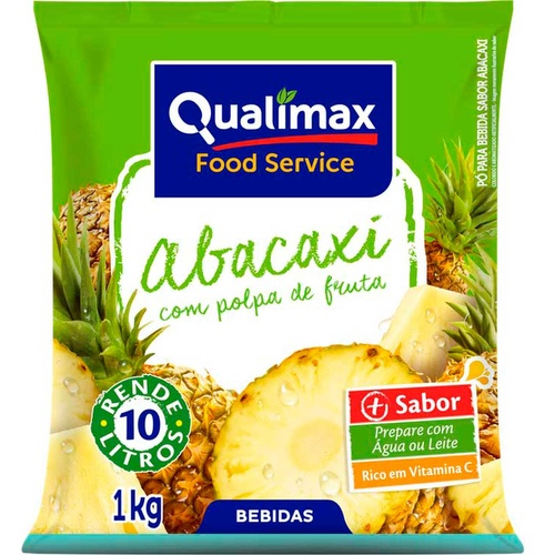 REFRESCO PO QUALIMAX ABACAXI 1 KG