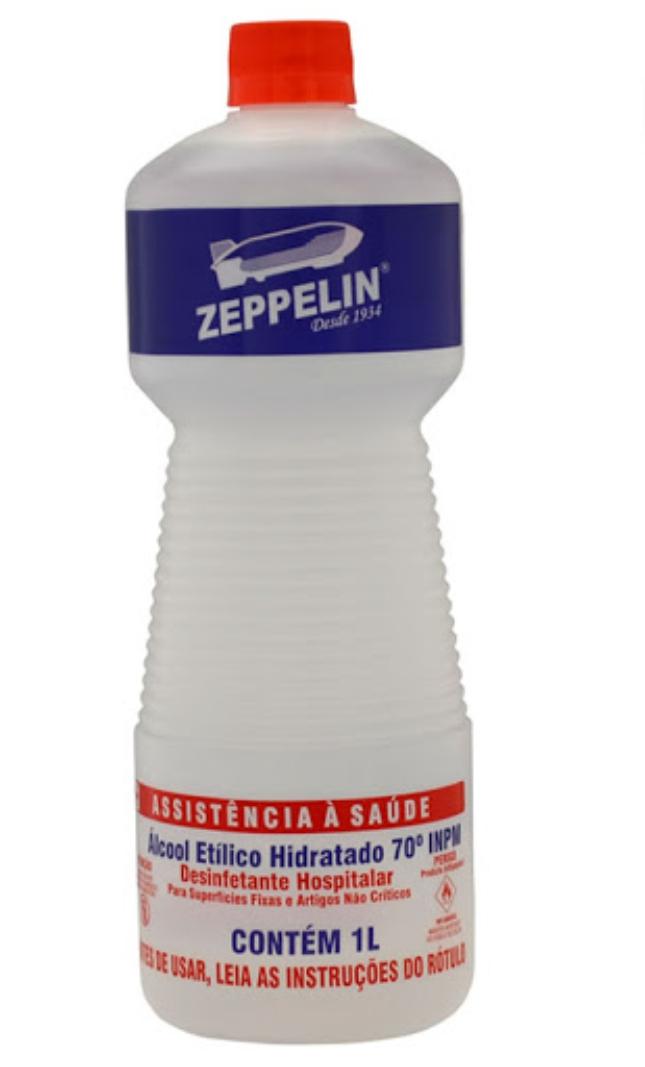 ALCOOL ZEPPELIN 70 GL 12X1 LT