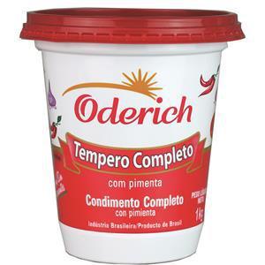 TEMPERO ODERICH COMPL.C/PIMENTA 300 G