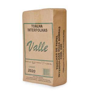 PAPEL TOAL.INT.CR.VALLE 1000 UN 20X20CM