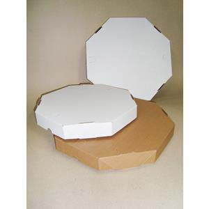 CAIXA p/PIZZA 25cm NATURAL 50 un