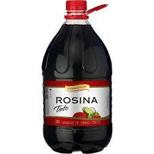 VINAGRE VINHO TINTO ROSINA 4,9 LT