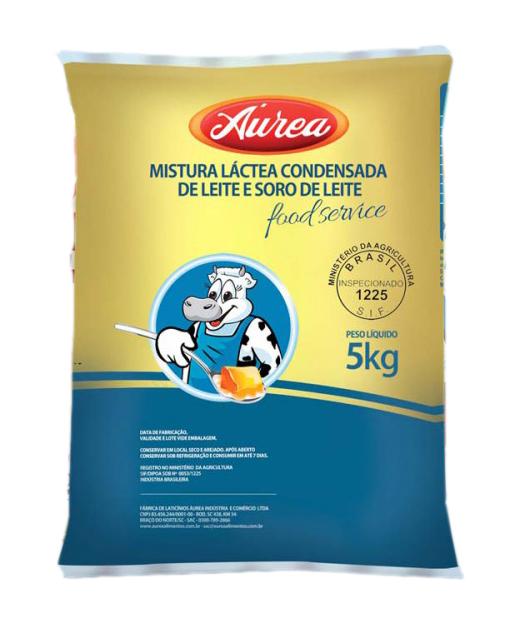 MISTURA LACTEA CONDEN.AUREA BAG 5 KG