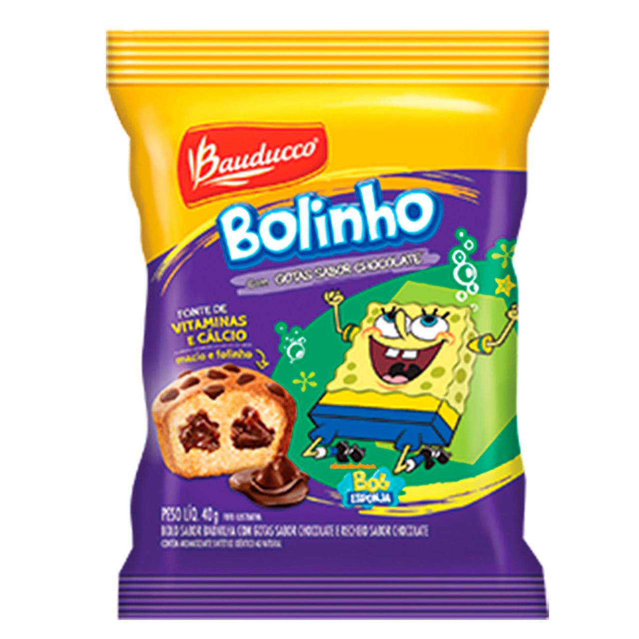 BOLINHO BAUDUCCO GOTAS CHOCOLAT.14X40 G