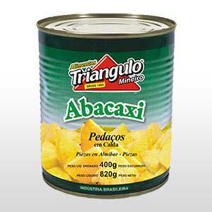 ABACAXI EM PEDACOS TRIANGULO 400 G
