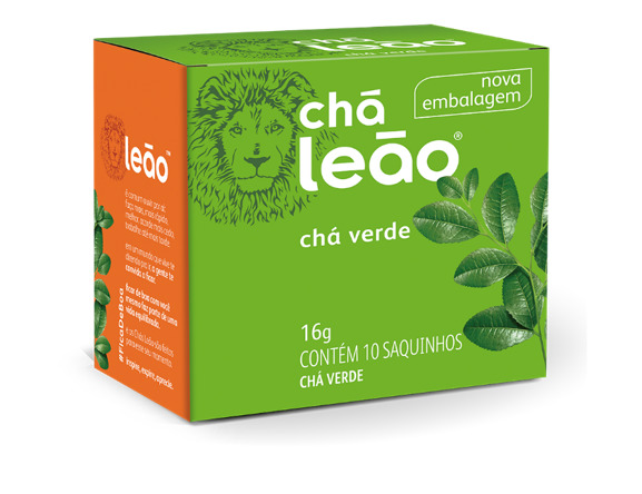 CHA LEAO VERDE NATURAL 10 SQ