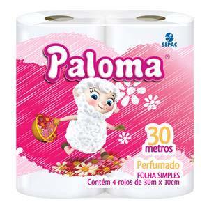 PAPEL H.PALOMA PERFUMADO.16X4 UN 30M