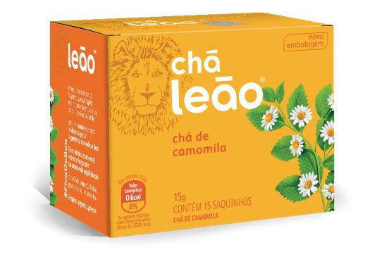 CHÁ LEÃO CAMOMILA 15 ENV.