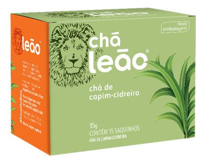 CHÁ LEÃO CIDREIRA 15 ENV.