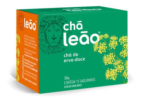CHÁ LEÃO ERVA DOCE 15 ENV.
