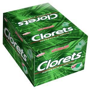 CHICLE CLORETS HORTELA 100X2UN